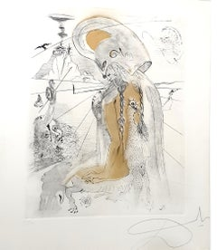 Salvador Dali - Athena - Original Etching