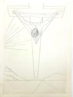 Salvador Dali - Christ - Etching