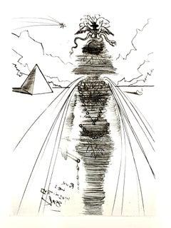 Salvador Dali - Cleopatra - Original Etching