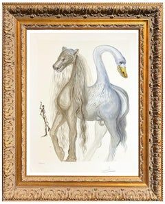 Salvador Dalí * Dalinean Horses Horace's Chimera * Certified Lithograph
