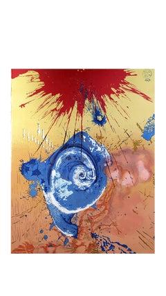 Salvador Dali - Dawn - Original Lithograph