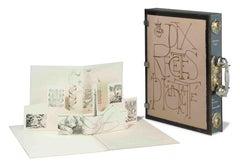 Salvador Dali - Dix Recettes d'Immortalite - Original Signed Artworks