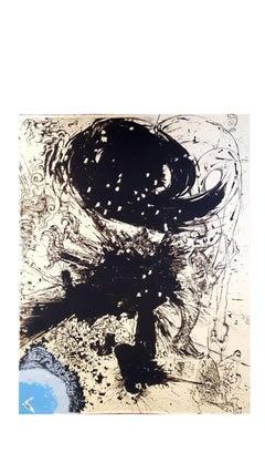 Salvador Dali - The Vision - Original Lithograph