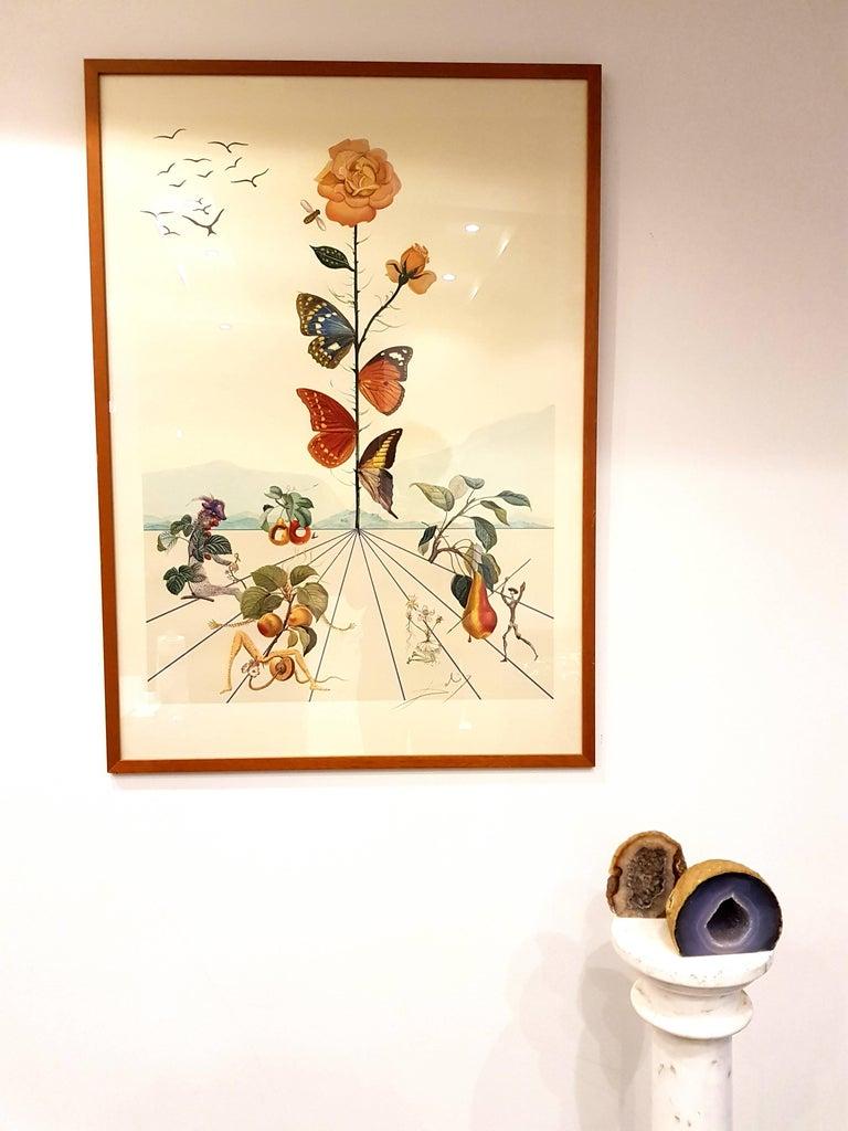 Salvador Dali - Flordali II - Lithograph For Sale 1