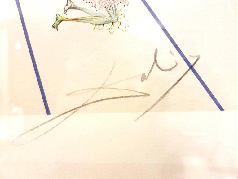 Salvador Dali - Flordali II - Lithograph For Sale 2