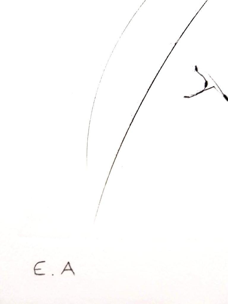 Salvador Dali - Fruits With Holes - Original Hand-Signed Lithograph - Surrealist Print by Salvador Dalí
