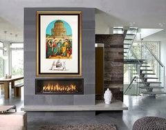 Salvador Dali Hand Signed Original Lithograph Raphael Le Marriage de Vierse Art