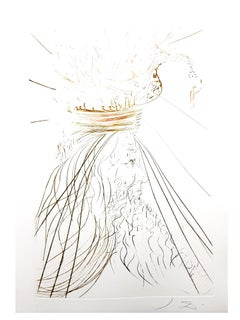 Salvador Dali - King Marc - Original Etching