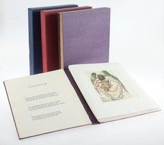 SALVADOR DALI LIMITED EDITION SET OF 3 PORTFOLIOS 1974