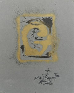 Salvador Dali Lithograph Surreal G for Bolaffiarte Limited Edition 1972