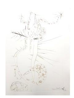Salvador Dali - Mad Tristan - Original Etching
