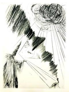 Salvador Dali - Magician - Original Etching