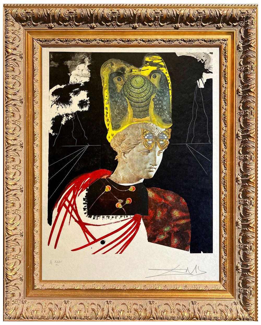 Salvador Dalí * Memories of Surrealism Crazy Crazy Crazy Minerv * Etching