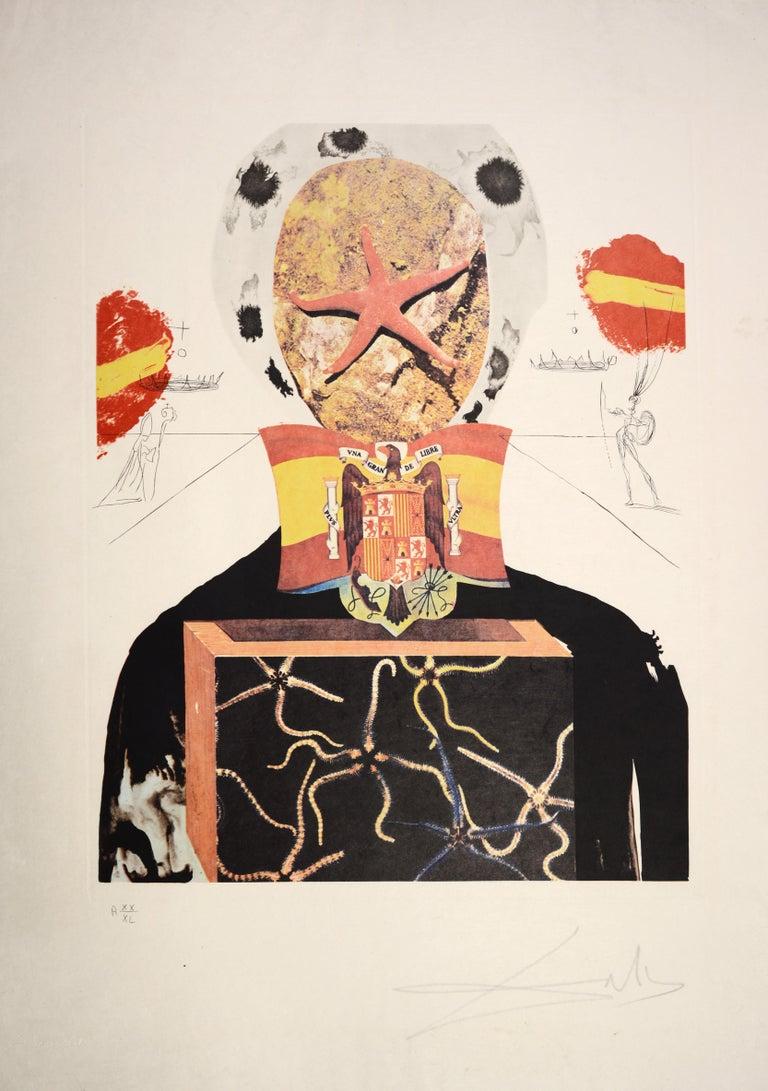 Salvador Dali, Surrealist King, from Memories of Surrealism.  2