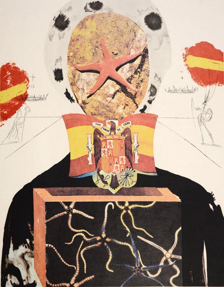 Salvador Dali, Surrealist King, from Memories of Surrealism.  3