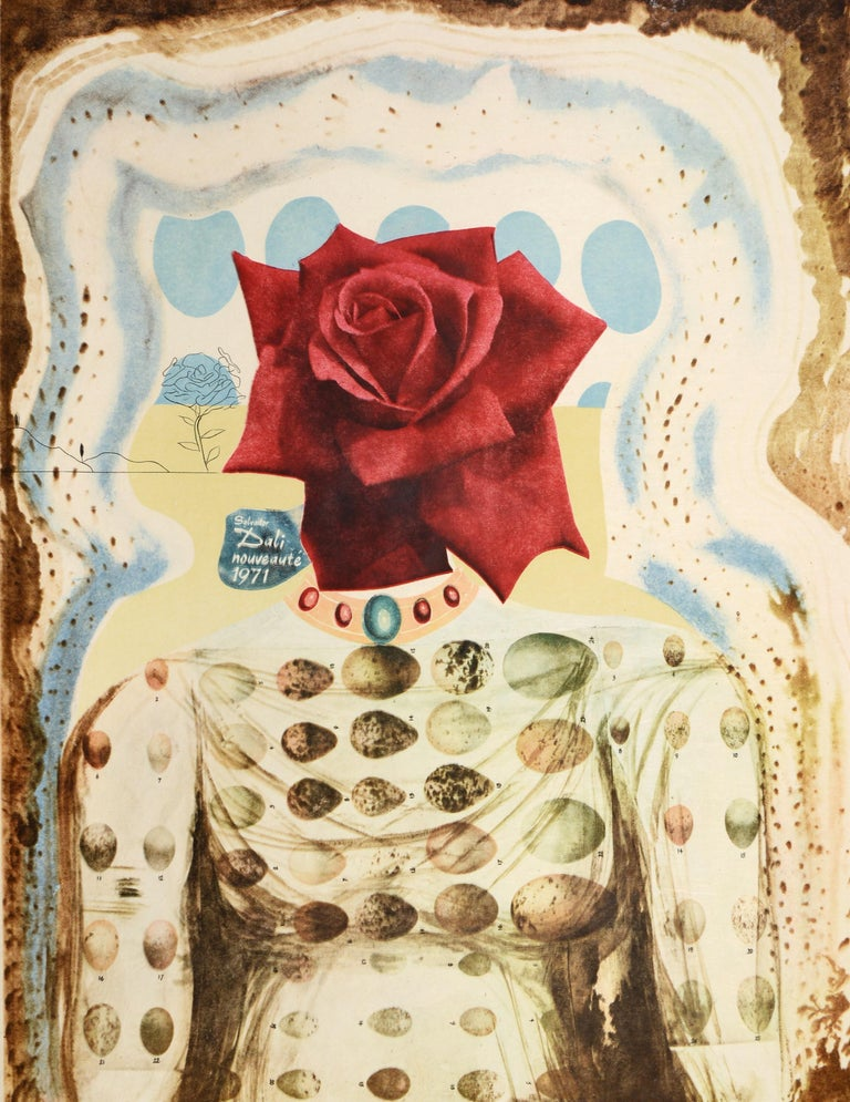 Salvador Dali, Surrealist Flower Girl, from Memories of Surrealism.  3