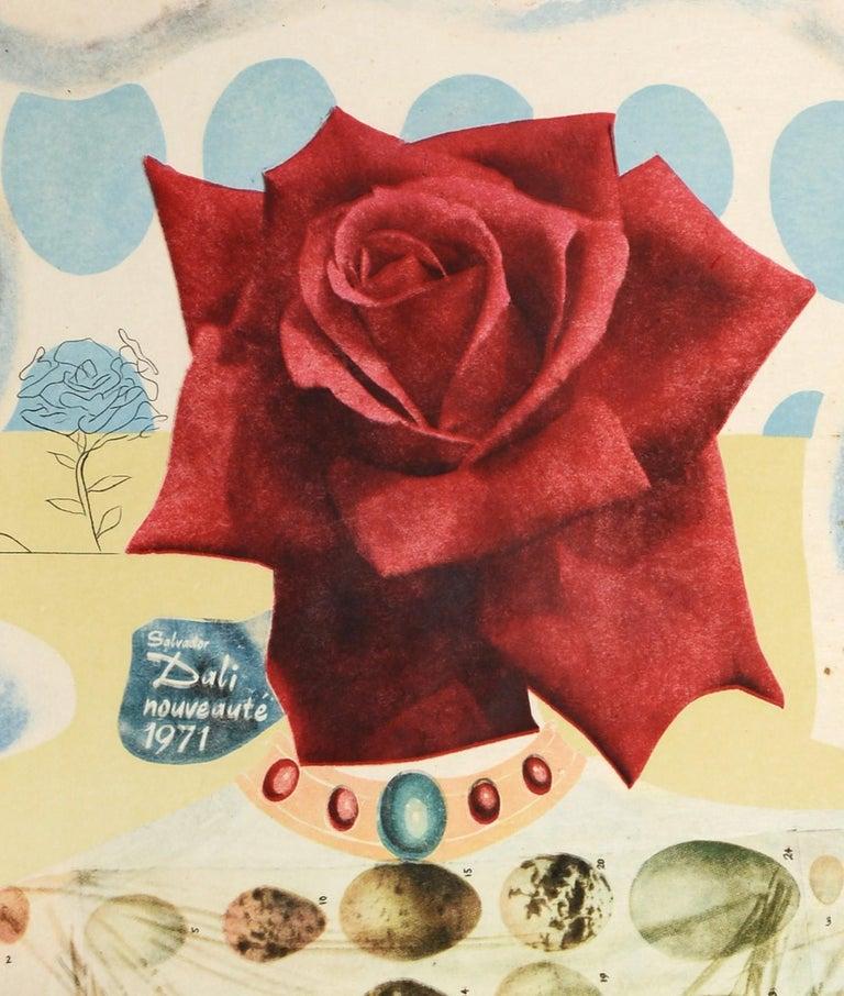 Salvador Dali, Surrealist Flower Girl, from Memories of Surrealism.  4