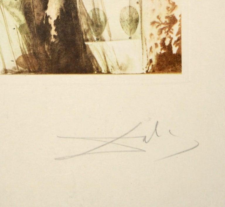 Salvador Dali, Surrealist Flower Girl, from Memories of Surrealism.  5