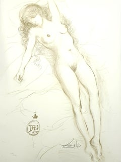 Salvador Dali - Nude with Raised Arms - Original Handsigned Lithograph