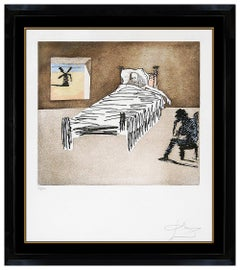 Salvador Dali Original Color Etching Don Quichotte Hand Signed Le Legacy Artwork