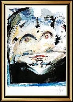 Salvador Dali Original Lithograph Authentic Hand SIGNED Anamorphoses Surreal Art