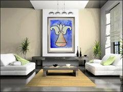 Salvador Dali Original Lithograph Lys Anamorphoses Hand Signed Surreal Flower