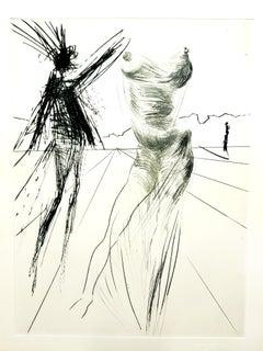 "Salvador Dali - Sator from ""Faust"""