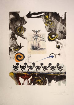 Salvador Dali, Surrealist Gastronomy, from Memories of Surrealism. 1971