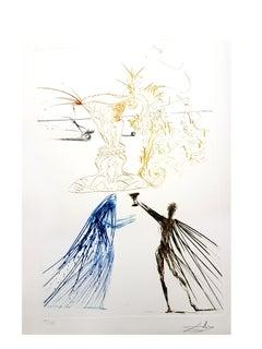 Salvador Dali -  from Tristan &. Iseult