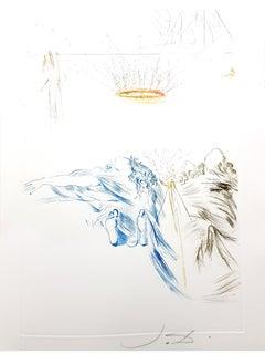 Salvador Dali - Tristan's Testament - Original Etching