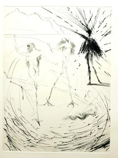 Salvador Dali - Women - Original Etching