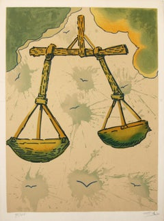 Signs of The Zodiac,  Libra by Salvador Dali
