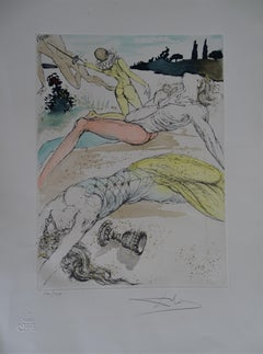 Surrealism Etching Salvador Dalí 20th Century