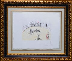 "Surrealist Bullfight ""Bullfight with Drawer"""