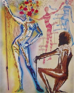 The Ballet of the Flowers 1989 Limited Edition Lithograph