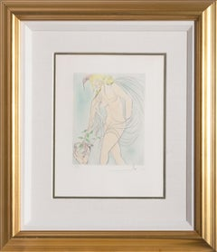 The Cup Offered, Framed Etching by Salvador Dali