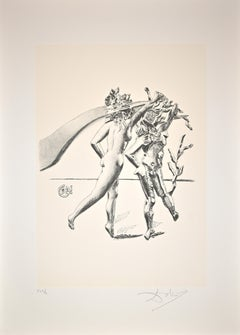 The Dance from the series The Arts - Original Lithograph by Salvador Dalì - 1980