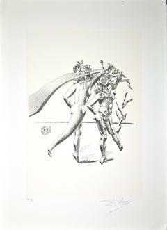 The Dance - Original Lithograph by Salvador Dalì - 1980