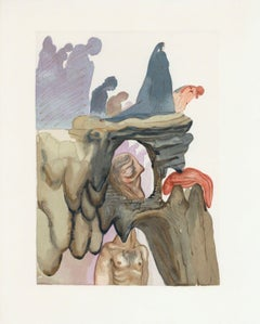 The Divine Comedy (Hell Canto #23), Limited Edition Engraving, Salvador Dali
