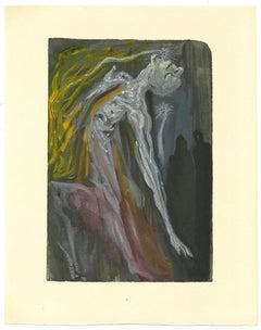 The Furies - Original Woodcut Print by Salvador Dalì - 1963