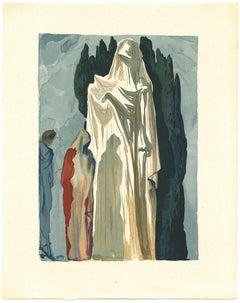 The Heretics - Original Lithograph by Salvador Dalì - 1963