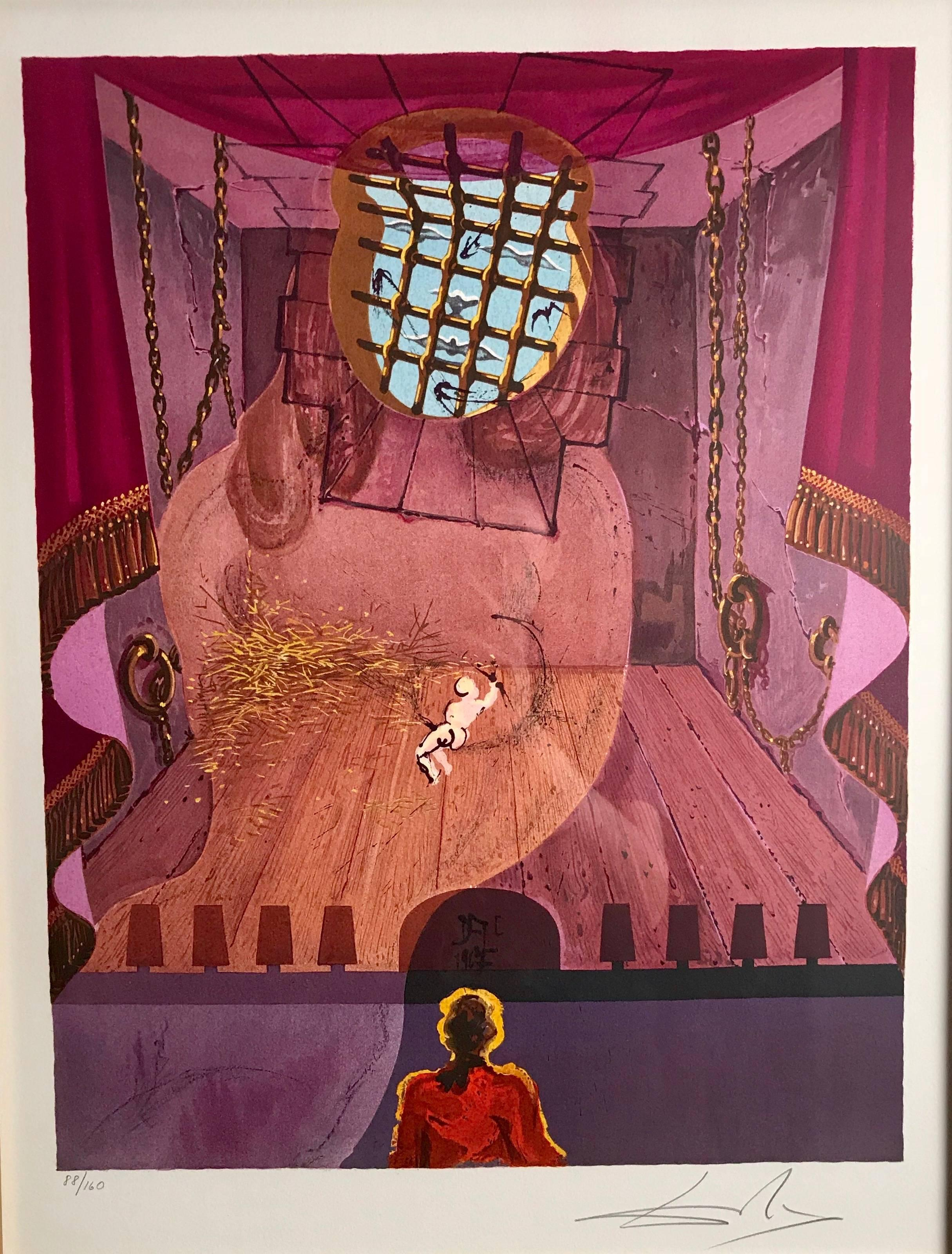 """The Prison from """"The Marquis de Sade"""""""