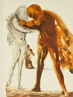 The Prodigal Son Biblia Sacra Salvador Dali lithograph 1969