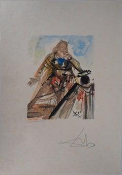 The Queen - Original Woodcut, Handsigned, 1979 (Field #79-2 G)
