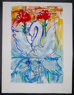 The Ugly Duckling - Original Lithograph by Salvador Dalì - 1966