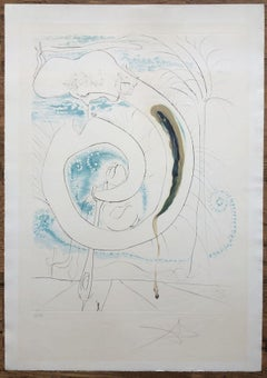 The Visceral Circle of the Cosmos - Original Etching Handsigned