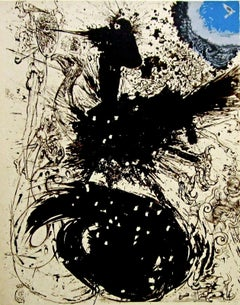 The Visions, 1957 Limited Edition Lithograph, Salvador Dali