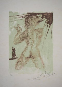 Tribute to Meissonier : Male Nude - Original Handsigned Lithograph (Field 67-2A)
