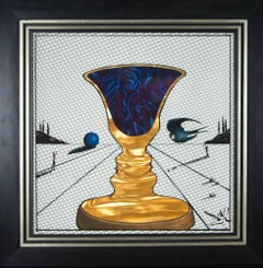 Tristan and Isolde, Cup of Love  1972 Salvador Dali original lithograph on Rolux