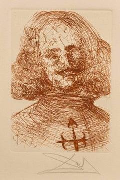Velazquez from Dali's Five Spanish Immortals
